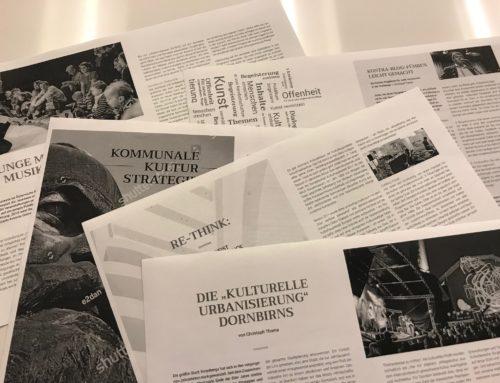 Culturelab #2: Fachmagazin zu Fragen kultureller Strategie